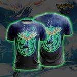 Xerneas Pokemon Go Unisex 3D T-shirt