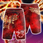 Yu-Gi-Oh! Crimson Dragon Beach Shorts