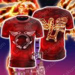 Yu-Gi-Oh! Crimson Dragon Unisex 3D T-shirt