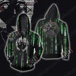 Serial Experiments Lain Zip Up Hoodie Jacket