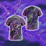 Yu-Gi-Oh! Dark Magician (Male) New Unisex 3D T-shirt