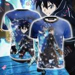 Sword Art Online Kirito 3D T-shirt