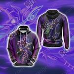 Yu-Gi-Oh! Dark Magician (Male) New Unisex Hoodie