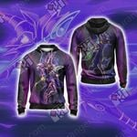 Yu-Gi-Oh! Dark Magician (Male) New Unisex Zip Up Hoodie Jacket