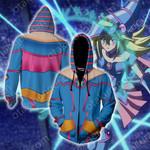 Yu-Gi-Oh! Dark Magician Girl Cosplay Zip Up Hoodie Jacket