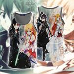 Sword Art Online Kirito And Asuna Unisex 3D Tank Top