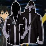 Sword Art Online Kirito Cosplay (ALfheim Online Ver) Zip Up Hoodie Jacket