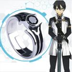 Sword Art Online Kirito Cosplay Kirigaya Kazuto SAO 925 Silver Ring