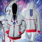 Yu-Gi-Oh! Elemental HERO Neos Cosplay Zip Up Hoodie Jacket