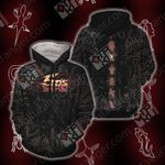 Yu Gi Oh! 5DS - Mark of the Shadows Unisex  3D Hoodie