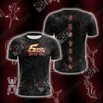 Yu Gi Oh! 5DS - Mark of the Shadows Unisex 3D T-shirt