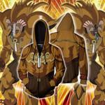 Yu-Gi-Oh! Exodia Cosplay Zip Up Hoodie Jacket