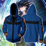 Yu-Gi-Oh! Fudo Yusei Cosplay New Look Zip Up Hoodie Jacket