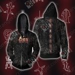Yu Gi Oh! 5DS - Mark of the Shadows Unisex Zip Up Hoodie Jacket