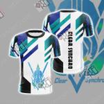 Yu Gi Oh! Arc-V - Clear Synchro Unisex 3D T-shirt