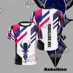Yu Gi Oh! Arc-V - Rebellion Xyz Unisex 3D T-shirt