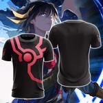 Yu-Gi-Oh! Fudo Yusei Cosplay Unisex 3D T-shirt