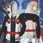Sword Art Online The Movie Cosplay Zip Up Hoodie Jacket