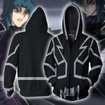 Yu-Gi-Oh! GX Zane Truesdale Cosplay Zip Up Hoodie Jacket