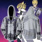 Yu-Gi-Oh! Jack Atlas Cosplay Zip Up Hoodie Jacket