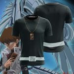 Yu-Gi-Oh! Kaiba Seto Cosplay Unisex 3D T-shirt