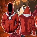 Yu-Gi-Oh! Jaden Yuki Cosplay Zip Up Hoodie Jacket