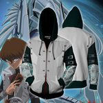 Yu-Gi-Oh! Kaiba Seto Cosplay Zip Up Hoodie Jacket