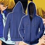 Yu-Gi-Oh! Katsuya Jonouchi Cosplay Zip Up Hoodie Jacket
