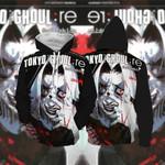 TakizawaSeidou Tokyo Ghoul 3D Hoodie