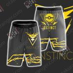 Team Instinct Pokemon Go Beach Shorts