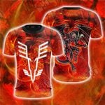 Yu-Gi-Oh! Red Dragon Archfiend  The Mark Of The Wings Unisex 3D T-shirt