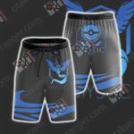 Team Mystic Pokemon Go Beach Shorts