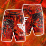 Yu-Gi-Oh! Red Dragon Archfiend Beach Shorts