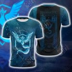 Team Mystic Pokemon Go New Unisex 3D T-shirt