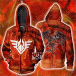 Yu-Gi-Oh! Red Dragon Archfiend Zip Up Hoodie