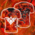 Yu-Gi-Oh! Red Dragon Archfiend Unisex 3D T-shirt