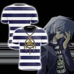 Yu-Gi-Oh! Ryo Bakura Cosplay Unisex 3D T-shirt