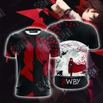 Team RWBY Ruby Rose Unisex 3D T-shirt
