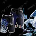 Yu-Gi-Oh! Seto Kaiba And Blue-Eyes Dragon Cosplay Beach Shorts