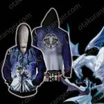 Yu-Gi-Oh! Seto Kaiba And Blue-Eyes Dragon Zip Up Hoodie