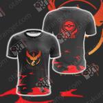 Team Valor Pokemon Go Unisex 3D T-shirt