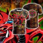 Yu-Gi-Oh! Slifer The Sky Dragon Unisex 3D T-shirt