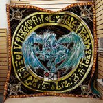 Yu-Gi-Oh! Stardust Dragon 3D Quilt Blanket