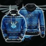 Yu-Gi-Oh! Stardust Dragon Knitting Style Unisex 3D Hoodie