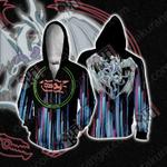 Yu-Gi-Oh! Stardust Dragon New Zip Up Hoodie