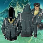 Yu-Gi-Oh! Tetsu Trudge Cosplay Zip Up Hoodie Jacket