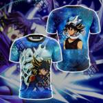 Yu-Gi-Oh! Yusei Fudo and Stardust Dragon New Version 3D T-shirt