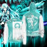 Hatsune Miku New Version 2019 Unisex Zip Up Hoodie Jacket