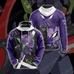 Neon Genesis Evangelion - EVA01 New Unisex 3D Hoodie