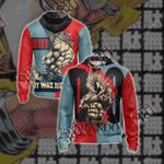 JoJo's Bizarre Adventure New Style Unisex Zip Up Hoodie Jacket